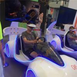 1500W 220V VR Car Racing Simulator / Arcade Games Machines Manufactures