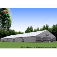 Large Outside Tents Aluminum A Frame Structure With Glass Walls Manufactures