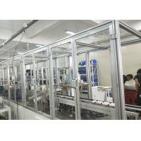 SD Card Storage Automated Assembly Process , Automobile Assembly Line High Bearing Capacity