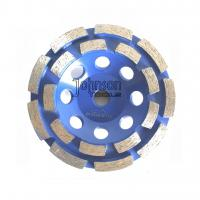 China Double Row Diamond Grinding Wheel For Fast Grinding Mid Hard Concrete on sale
