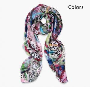 Quality Silk Habotai digital Printing Scarf for sale