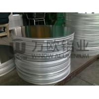 Round Shaped Anodized Aluminum Blanks High Durability For Making Pots Manufactures