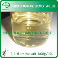 Quality CAS number 94-75-7 Technical Products 2,4 D AMINE SALT 720g/l 860 SL for sale