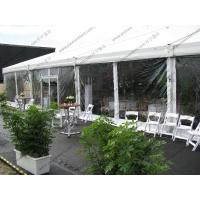 Luxury Decoration PVC Party Tent Transparent Sidewalls White For Outdoor Hotel Event Manufactures