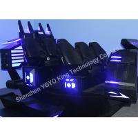 6DOF Electric System 6 Seats 9D Cinema Simulator With Virtual Reality Games Manufactures