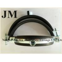 Customized Thickness Standard Rubber Pipe Clamp OEM / Neutral Packing Manufactures