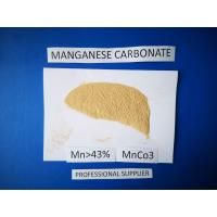 Manganese Carbonate Chemical Raw Materials 43.5 % Purity Phosphorous Grade Manufactures