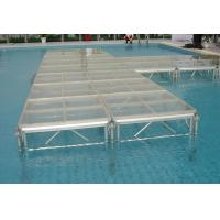 Quality Mobile Portable Polymethyl Methacrylatel Stage Platform For Wedding ,  Temporary Stage Platforms for sale
