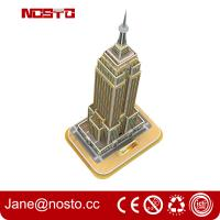 3D Building Puzzle for Empire State Building Construction Model and Set Manufactures