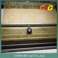 Polyester Home Textile Products Width 1.6m 87gsm White Lace Fabric For Tablecloth Manufactures
