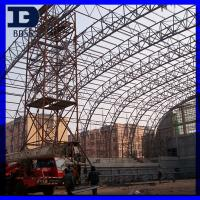 China Buildings Prefab Arch High Rise Steel Structures Cold - Formed S355JR on sale