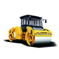 China 10 ton Cummins engine Tendam Vibratory Road Roller for road construction and Road paving on sale