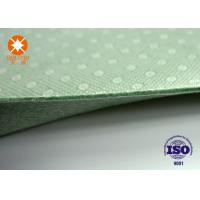 Laminated Nonwoven Fabric Needle Punched Felt Backing With PVC Dots 4m Width Manufactures