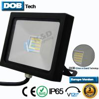 120LPW Efficiency Outdoor Wall Mounted Flood Lights ADC12 Aluminium LED Lighting Manufactures