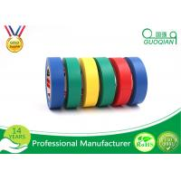 China Adhesive Insulation Masking PVC Multi Colored Electrical Tape Heat - Resistant on sale