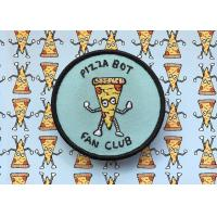 Cute Club Embroidered Logo Patches , Collectible Custom Embroidered Badges Manufactures