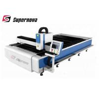 CNC Fiber Metal Laser Cutting Machine For Metal Sheet Tube Pipe Manufactures