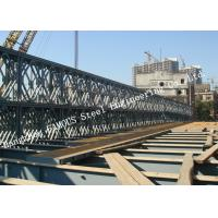 China Modern Style Prefabricated Modular Steel Bailey Bridge Galvanized Surface Treatment on sale
