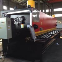 CNC Hydraulic Guillotine Steel Plate Shearing Machine  40 x 3200 mm Manufactures
