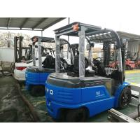 China BYD 3.5T Electric Counterbalance Forklift Truck With Pneumatic Tyres , Longlife on sale