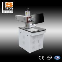 20w Fiber Jewellery Laser Marking Machine Single Color Apply To Plastic Bottle And Metal Manufactures
