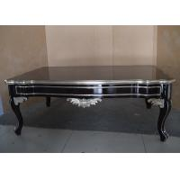 Neo Classical Style Solid Wood Coffee Table Standard Size Or Customized Manufactures