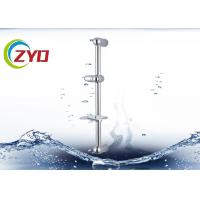 Silver / Other Color Bathroom Shower Sets For Hotel / Home Three Functions for sale