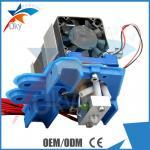 ABS Metal 3D Printer Kits , 0.35mm Nozzle Assembled Filament Extruder Manufactures