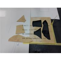 Quality rubber sheet fabric shoes pattern making cutter for sale