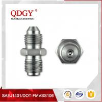 BLEED NIPPLE FITTING MALE TO MALE RESTRICTOR ADAPTER 7/16 X 20 UNF (-4 JIC) TO 7/16 X 24 GARRETT GT  SERIES TURBO Manufactures