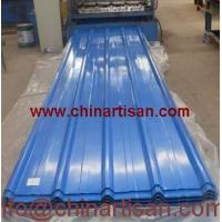 TY35--125--750 Automatic corrugated iron roof color steel cold roll forming machine Manufactures