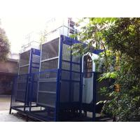 2000kgs Operator Cab Construction Material Hoists Dual Cage SC200 / 200 Manufactures