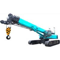U Type High duty hydraulic mobile crane with smooth rotation , 11.2m Jib length for sale