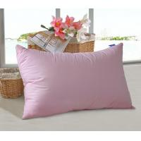 China Colorful Microfiber Pillow Insert Double Stitch Fluffy Hollow fiber filling  for Home and Hotel on sale