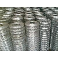 China 1x1 Galvanized Welded Wire Fence Panels With Square Hole For Breeding Industry on sale