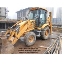 China JCB 3CX 4CX Used Backhoe Loader 1 M3 Bucket Capacity For Construction on sale