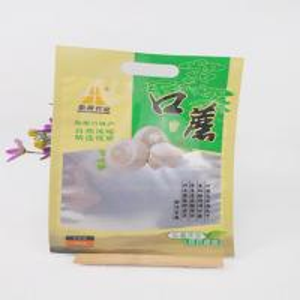 Eco Friendly Food Grade Die Cut Handle Plastic Bags Manufactures