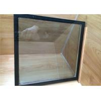 Double Glazing Replacement Glass , Insulated Tempered Glass Panels For Curtain Wall Manufactures