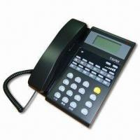 Key Telephone System with Three or Six Trunk Lines and Handsfree Dialing Manufactures