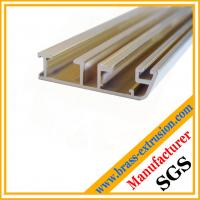 window door frame profiles brass channel extrusions sections Manufactures