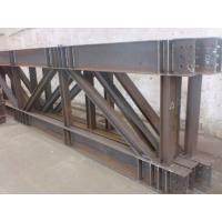 China Truss Steel Buildings Lightweight , Prefabricated Steel Structures on sale