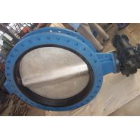 API598 High Performance U Type Flanged Butterfly Valve for Water, Air, Food, Oil Manufactures