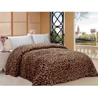 Giraffe Pattern Warm Comforter For Winter Machine Made Custom Color Printed Manufactures