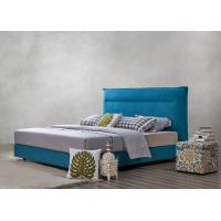 Fabric Upholstered Headboard Bed SOHO Apartment Bedroom interior fitout Leisure Furniture Manufactures