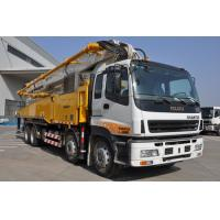 47m Boom Concrete Pump Truck 5 Sections RZ-type 32Mpa Oil Pressure Manufactures