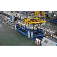 UPVC Double Wall Corrugated Pipe Extrusion Line Manufactures