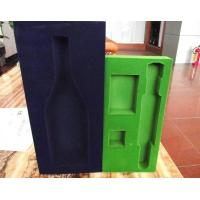 Odorless recycled flocking self adhesive insulation foam package Manufactures