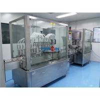 Quality Filling Labeling Machine Linear Type Syrup Oral Liquid / Tincture / Mixture for sale