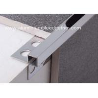 Mirror Effect Stainless Steel Metal Bullnose Border Edge Trim For Outside Corner Manufactures
