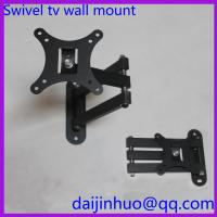 LCD TV Wall Mount Bracket with Full Motion Swing Out Tilt and Swivel Articulating Arm Manufactures